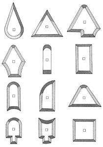 448001-18Farbkratzerblätter